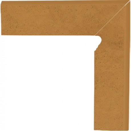 Aquarius Brown Cokół Schodowy Prawy 30x8,1x1,1