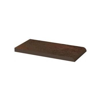 Semir Brown Parapet gładki 24,5x13,5x1,1