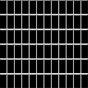 Altea Nero mozaika 30x30, kostka 2,3x4,8