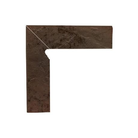 SEMIR Brown cokół dwuelementowy 30x8,1x1,1 Lewy