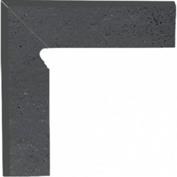 SEMIR Grafit cokół dwuelementowy 30x8,1x1,1 Lewy