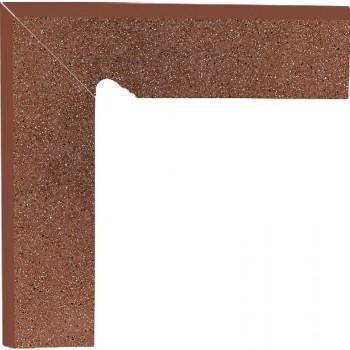 Taurus Brown 30x8,1x1,1 Cokół schodowy dwuelementowy Lewy