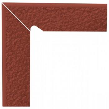 Natural Rosa cokół schodowy dwuelementowy strukturalny lewy Duro 30x8,1x1,1