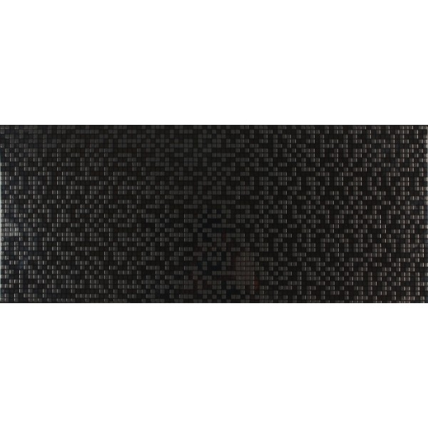 Dekor Pixel Black 25x60