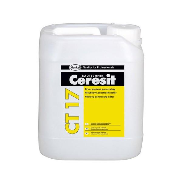 CERESIT CT 17 Grunt głęboko penetrujący 10L