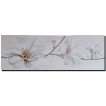 Stone Flowers Inserto Beige 25x75 G.I