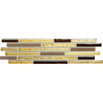 Venatello brown mosaic 372x98