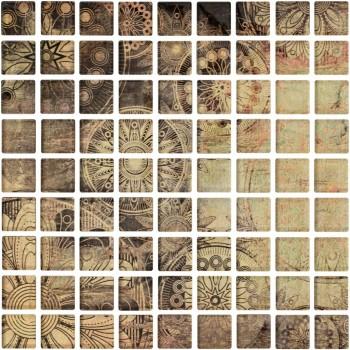 Ottavio Glass Mosaic 25x25