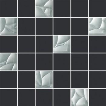 ESTEN SILVER/GRAFIT MOZAIKA CIETA 29,8X29,8 G.1