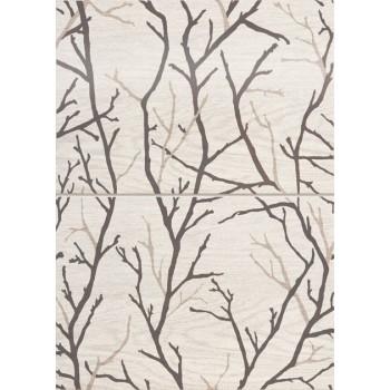 Dekor ścienny 2-elemntowy Inverno Tree 50,2x36