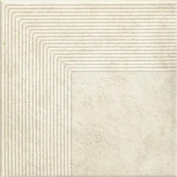 Stopnica narożna Scandiano beige 30x30