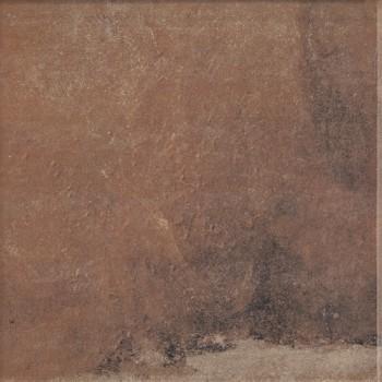 Stopnica narożna z kapinosem Scandiano Rosso 33x33