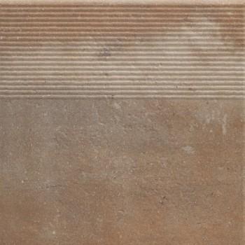Stopnica prosta Scandiano Rosso 30x30