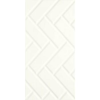 Moonlight Bianco Ściana A Struktura Rekt.29.5 x 59.5