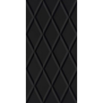 Moonlight Nero Ściana B Struktura Rekt. 29.5 x 59.5