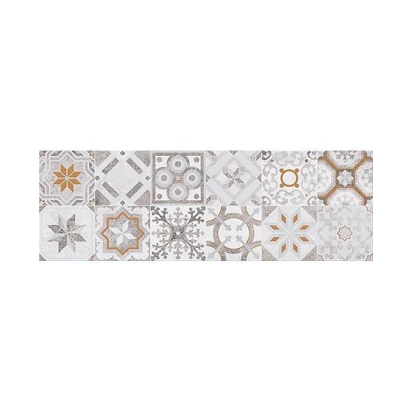 CONCRETE STYLE INSERTO PATCHWORK 20x60