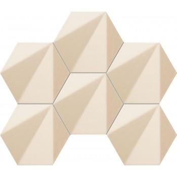 Chenille beige hex 289x221