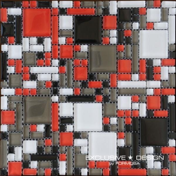 Glass mosaic 300x300x8 Nr 1 A-MGL08-XX-001