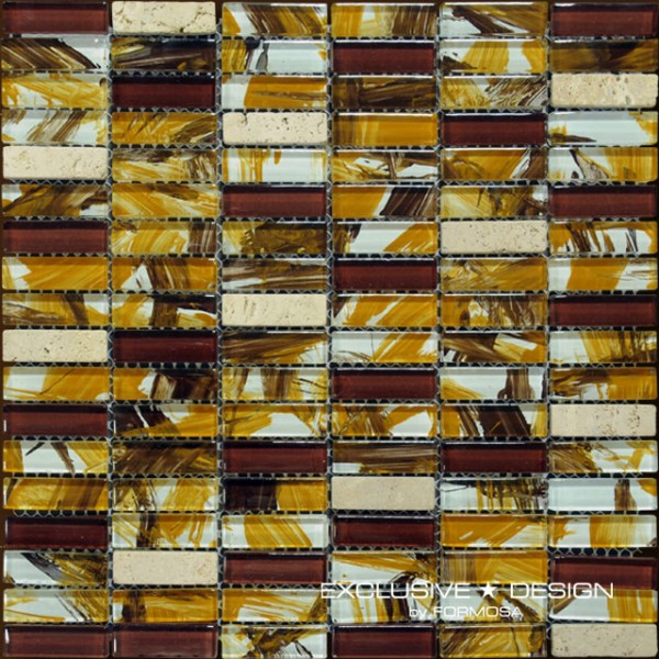 Glass mosaic 300x300x8 Nr 3 A-MGL08-XX-003