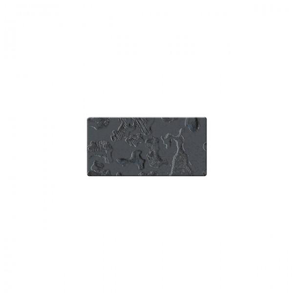 Mozaika szklana Componer grafit struktura 123x61x6 mm Nr 20 A-CGL06-XX-020