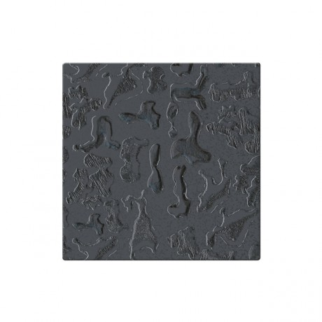 Mozaika szklana Componer grafit struktura 185x185x6 mm Nr 17 A-CGL06-XX-020