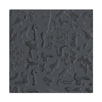 Mozaika szklana Componer grafit struktura 247x247x6 mm Nr 16 A-CGL06-XX-016