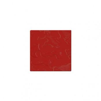 Mozaika szklana Componer czerwony struktura 123x123x6 mm Nr 24 A-CGL06-XX-024