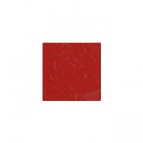 Mozaika szklana Componer czerwony struktura 185x185x6 mm Nr 22 A-CGL06-XX-022