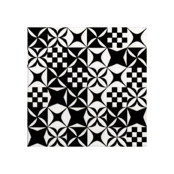 BLACK&WHITE MOSAICO MIX 20X20 G.I