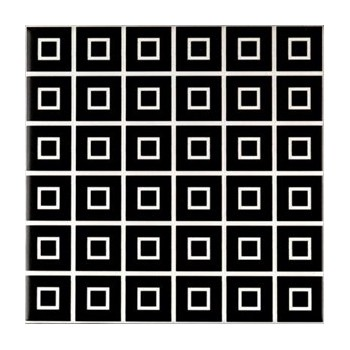 DECOR BLACK&WHITE MIX 20X20 GAT.1