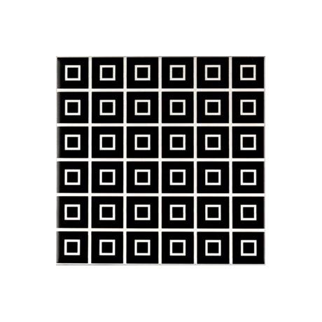 DECOR BLACK&WHITE MIX 20X20 GAT.1
