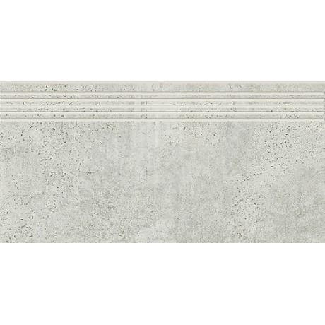 Newstone Light Grey Steptread  29,8 x 59,8