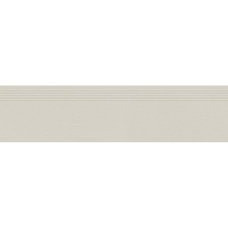 INDUSTRIO LIGHT GREY STOPNICA MAT REKTYFIKOWANA 29.6X119.8
