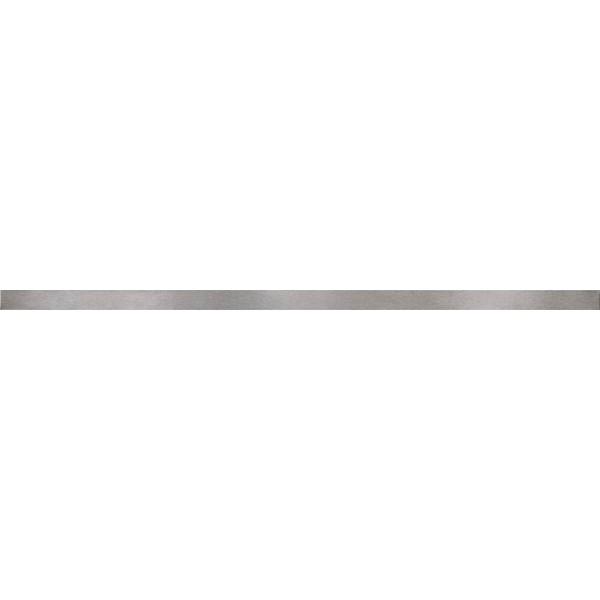 METAL SILVER GLOSSY BORDER 2x59,8 GAT.I