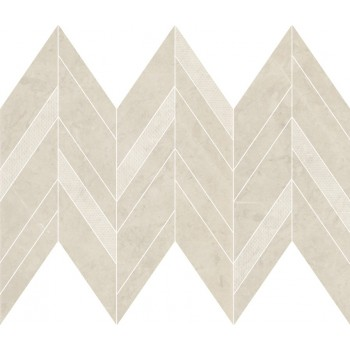 MANZILA BEIGE CHEVRON MIX...