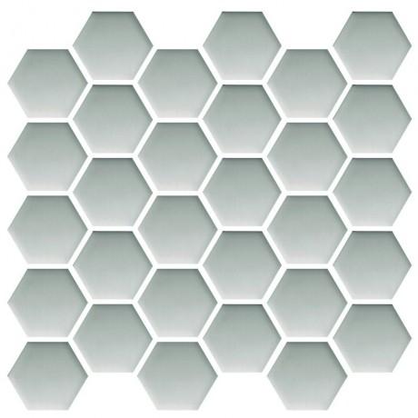Platinum Hexagon mosaic 25x25.8 GAT.I