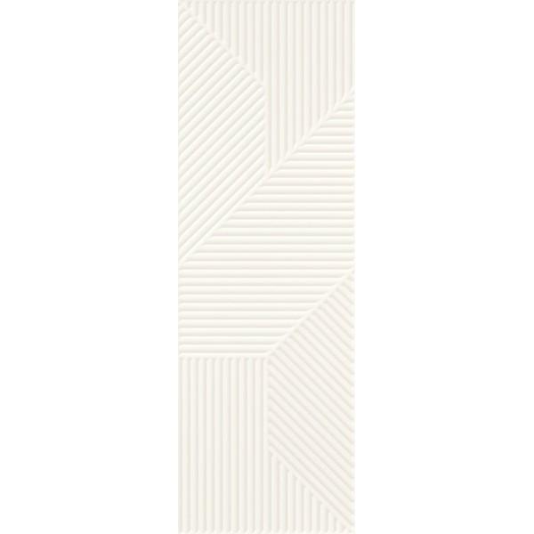 Woodskin Bianco Ściana A Struktura Rekt. 29.8x89.8 GAT.I