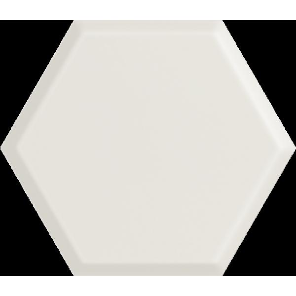 Woodskin Bianco Heksagon Struktura A Ściana 19,8x17,1 GAT.I