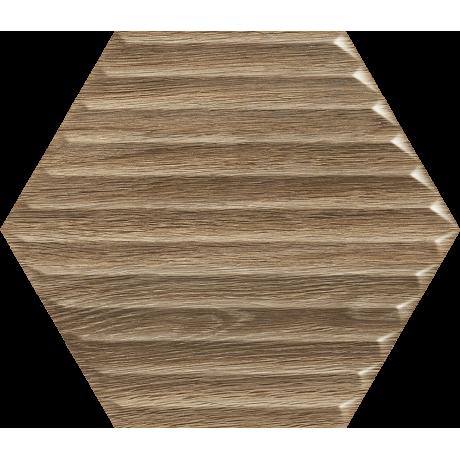 Woodskin Wood Heksagon Struktura B Ściana 198X171 GAT.I