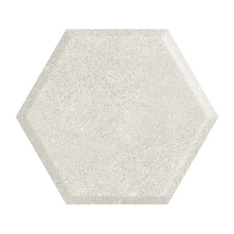 Woodskin Grys Heksagon Struktura A Ściana 19,8X17,1 GAT.I