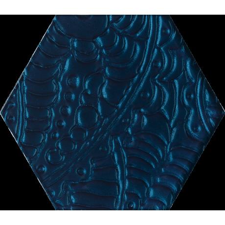 Urban Colours Blue Inserto Szklane Heksagon 19.8x17.1 GAT.I