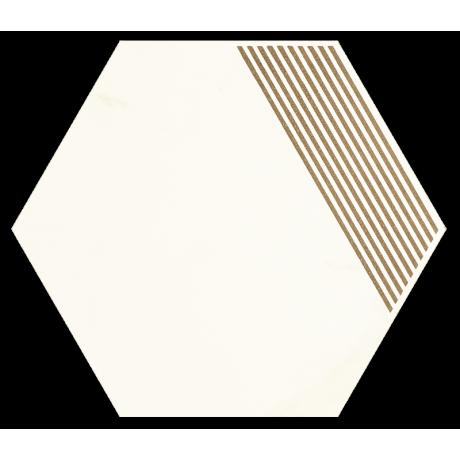 Calacatta Hexagon Mat. B 17.1x19.8 GAT.I