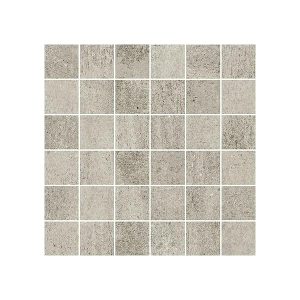 Grava Light Grey Mosaic Matt 29,8x29,8 GAT.I