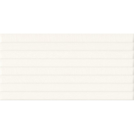 PS801 WHITE SATIN PATTERN LINE STRUCTURE 29,8x59,8 GAT.I