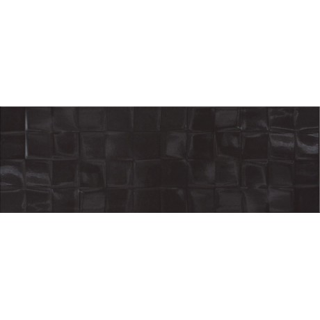BLACK GLOSSY STRUCTURE CUBES  19,8x59,8 GAT.I