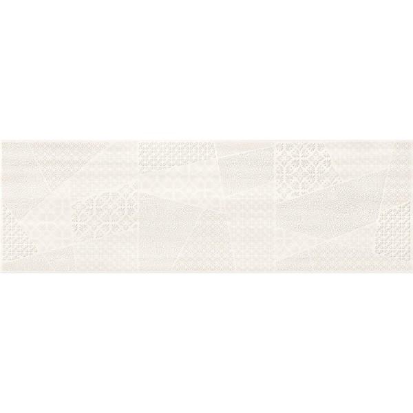 FERANO white patchwork inserto satin 24 x 74 GAT.I