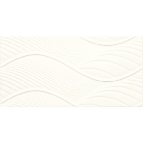 Fiori Bianco Ściana Struktura 30x60 GAT.I