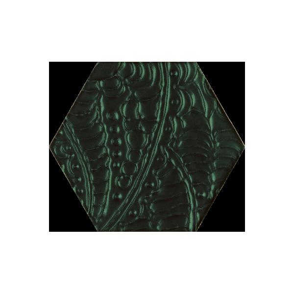 Urban Colours Green Inserto Szklane Heksagon 19.8x17.1 GAT.I