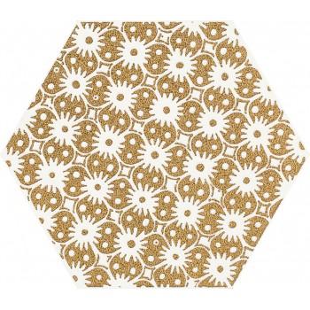 Shiny Lines Gold Heksagon...