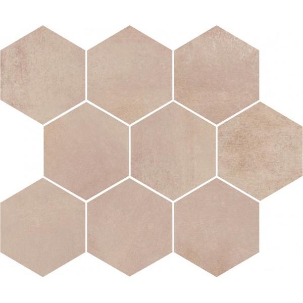 Arlequini Mosaic Hexagon 28x33,7 GAT.I